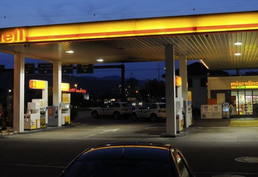 Lösungen für Tankstellen und Autowaschanlagen