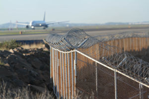 Perimeterschutz am Flughafen
