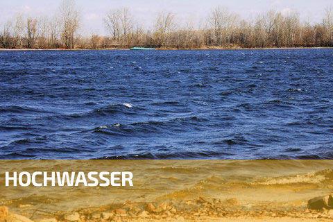 Baustellen-Webcam - Hochwasser