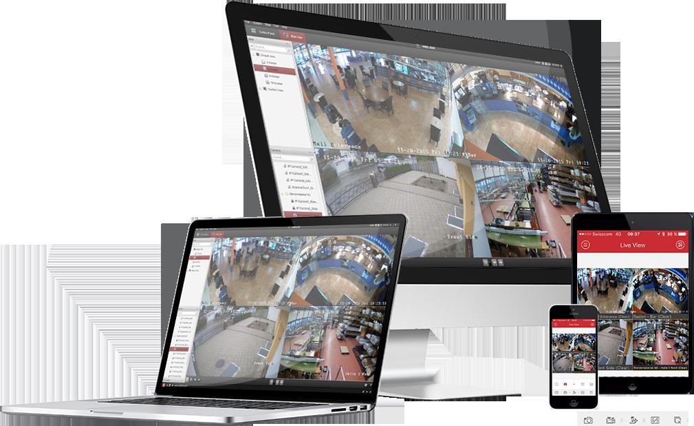 Professionelles Videoüberwachungssystem