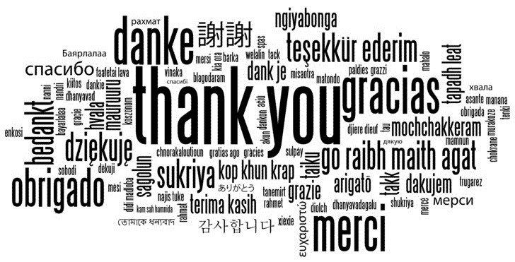 Vielen Dank - ThankYou