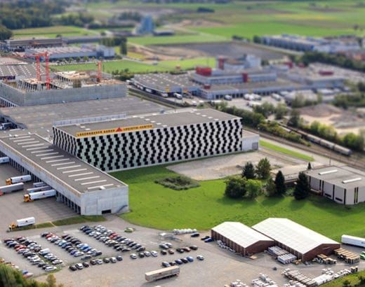 Referenzobjekte: Lagerhäuser Aarau