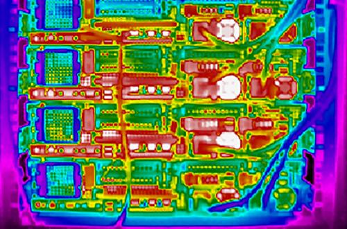 Temperaturmessung mit Wärmebildkamera in der Elektronik
