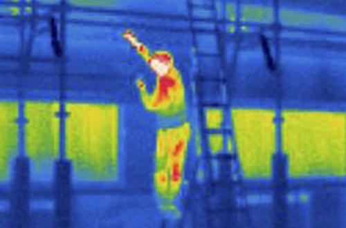 Temperaturmessung mit Wärmebildkamera erhöht die Sicherheit