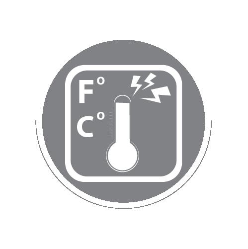 Genaue Temperaturmessung und Abweichungsalarm