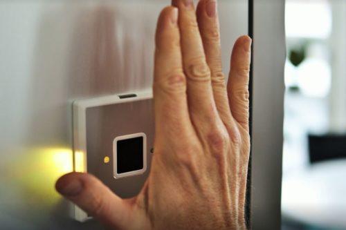 Hand-Venenscanner