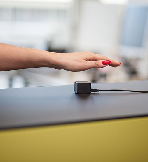 Venenscanner - Venensensor mit Hand - Zutrittskontrolle via biometrische Merkmale