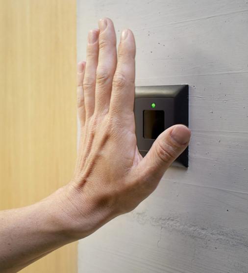 Venenscanner - Installiert - Zutrittskontrolle via biometrische Merkmale