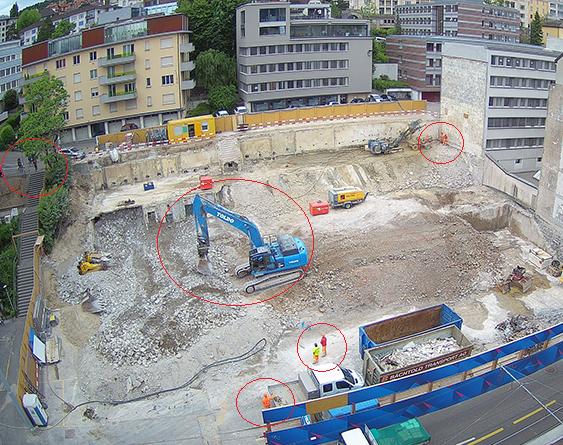 Baustellen Webcam