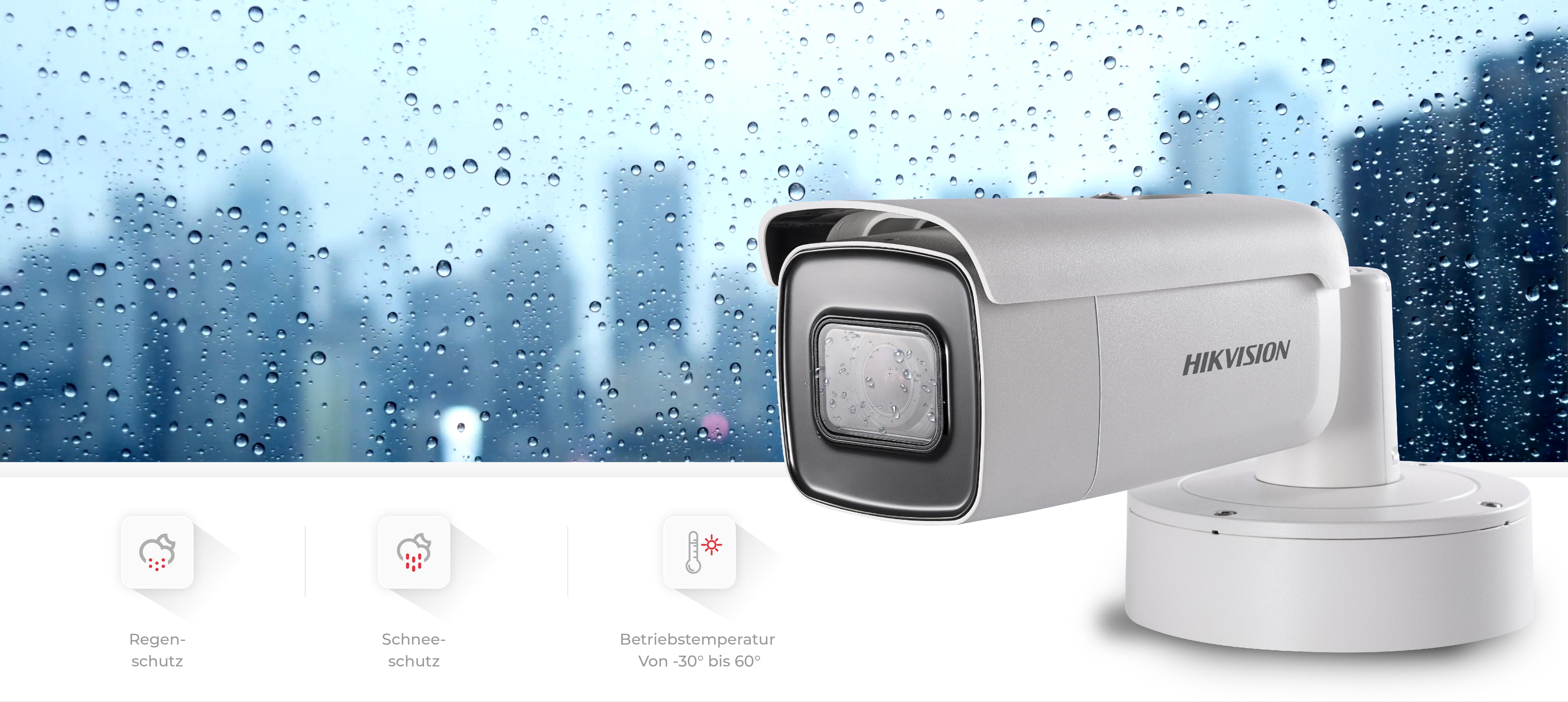 Hikvision Bullet Überwachungskamera Outdoor mit IP67