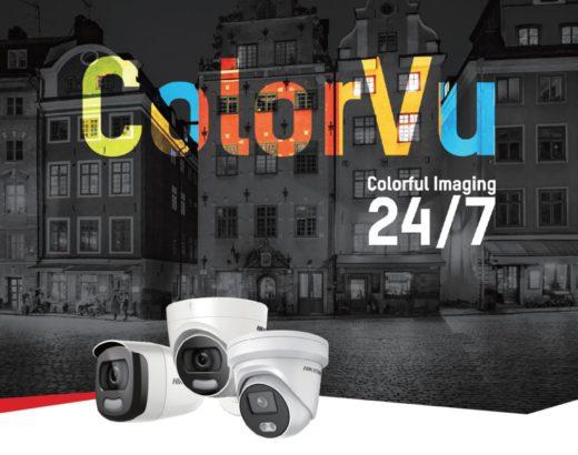 ColorVu IP-Kamera – farbige Videos auch in der Nacht