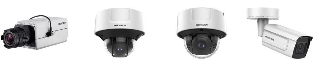 5 Series IP-Kameras von Hikvision - Bauformen Indoor und Outdoor