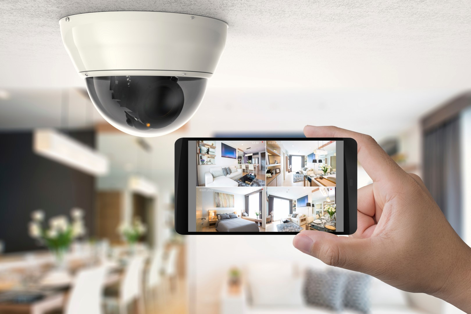 Professionelle IP-Kamera mit Mobile App
