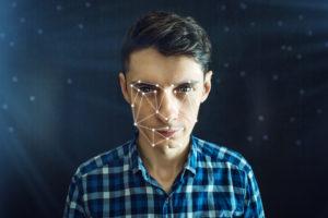 Gesichtserkennung mit einer Überwachungskamera