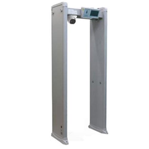 Metalldetektor Gate mit bispektraler Wärmebildkamera