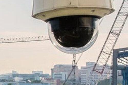 Baustellenkamera für Überwachung rund um die Uhr